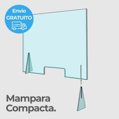 mampara compacta