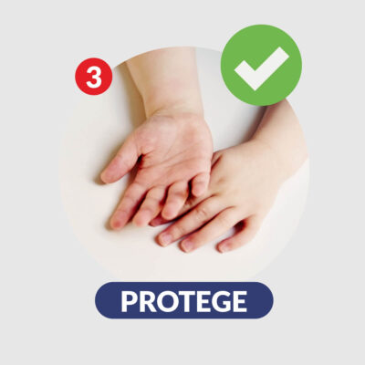 Sello para lavarse las manos